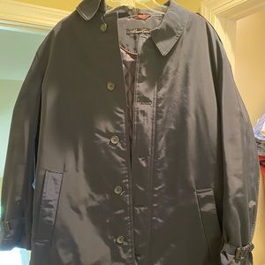 Kenneth Cole mens trench coat